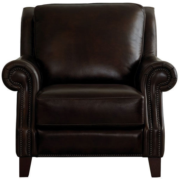 Picture of Pierce Hickory Leather Power Recliner