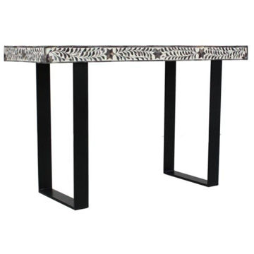 Picture of Grey And White Console Table