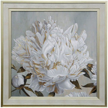 Picture of Cecilia II Textured Floral Framed Print