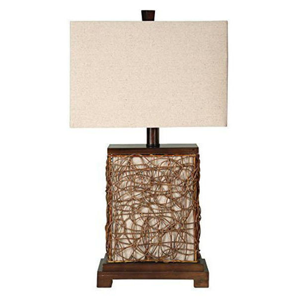 Picture of Free Port Rattan Base Table Lamp