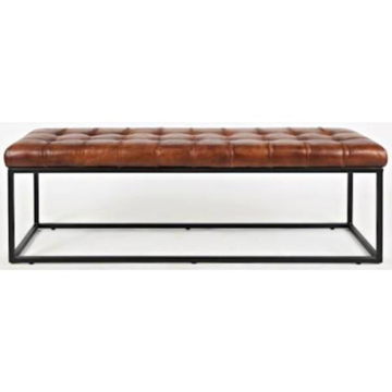 Picture of Global Archive Leather Bench