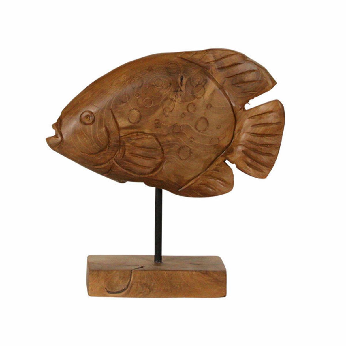 Picture of Pomfret Fish Sculpture