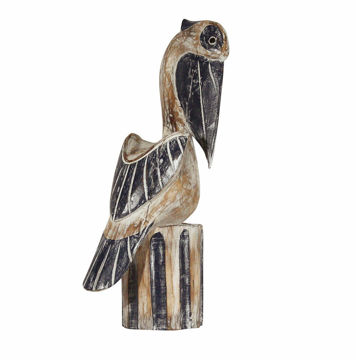 Picture of Pelican Wood Sculpture