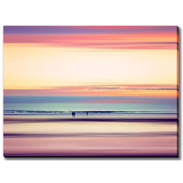 Picture of PASTEL HORIZON ABSTRACT ART