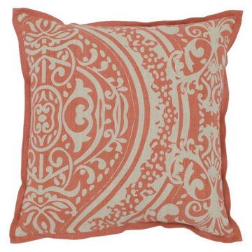 Picture of Fellah Coral 18x18 Accent Pillow