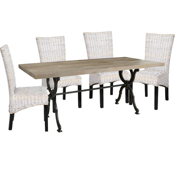 Picture of Strasburg 5 Piece Dining Set