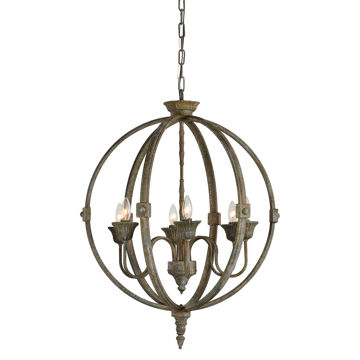 Picture of Levi Rustic Bronze Chandelier