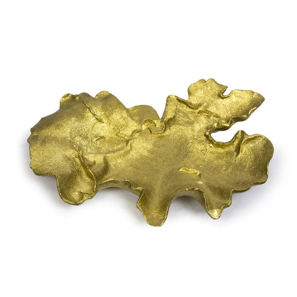 Picture of Coral Gold Decorative Tray