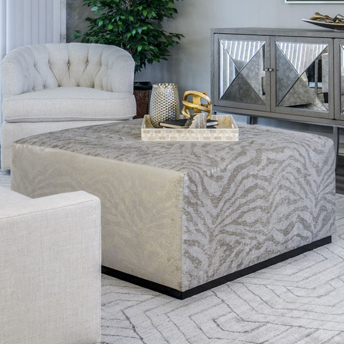 Picture of CLAYTON COCKTAIL OTTOMAN