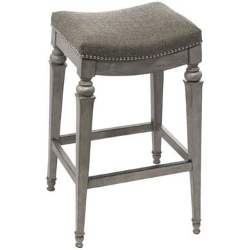 Picture of VETRINA BACKLESS COUNTER STOOL GRAY