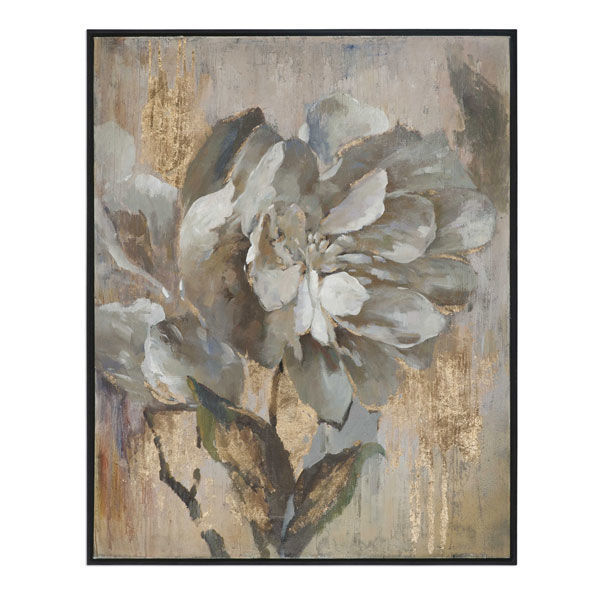 Picture of WHITE FLOWER PRINT