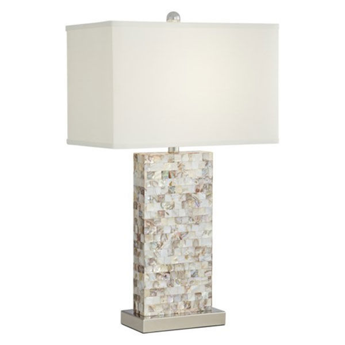 Picture of MOTHER OF PEARL TRAD LAMP