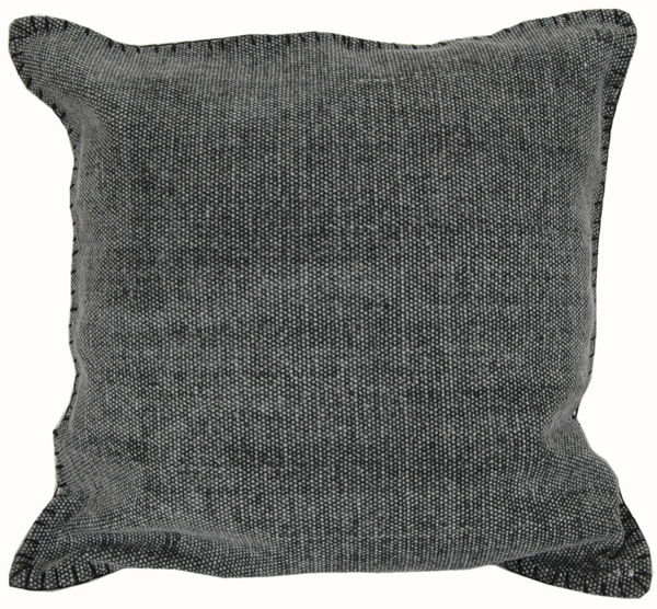 """Picture of Charcoal Gray 20"""" Square Accent Pillow"""