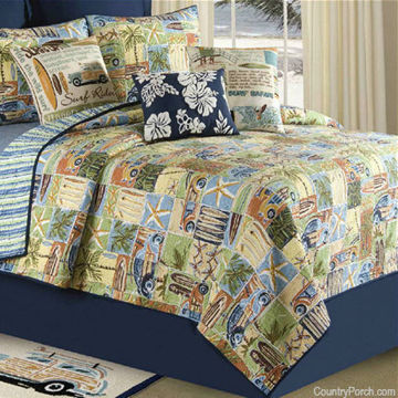 Picture of Surf Rider Queen Quilt