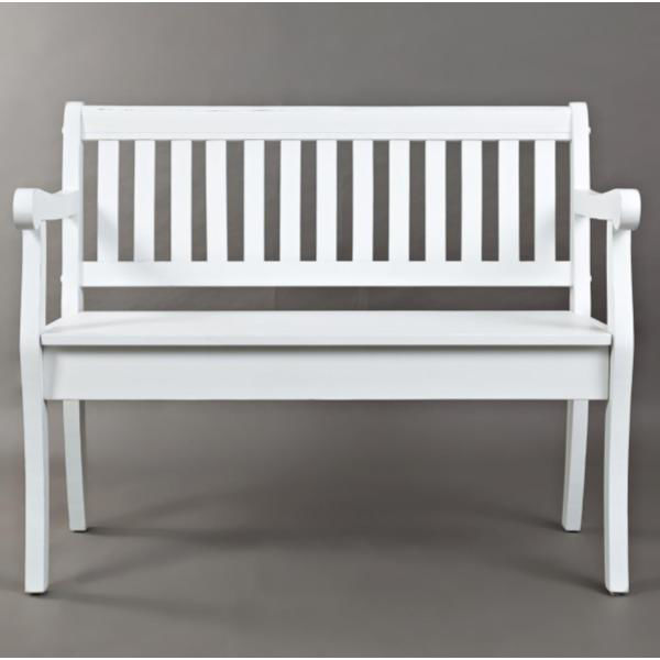 Picture of ARTISAN CRAFT BENCH-WHITE