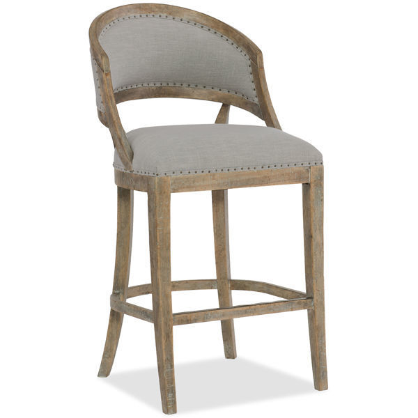 Picture of GARNIER BARREL BACK BAR STOOL