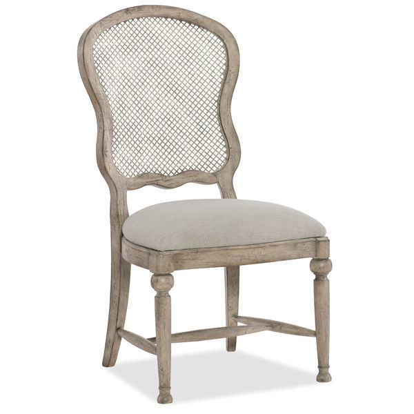 Picture of GASTON METAL BACK SIDE CHAIR