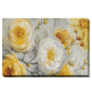 Picture of PEONIES SUNSHINE CANVAS ART