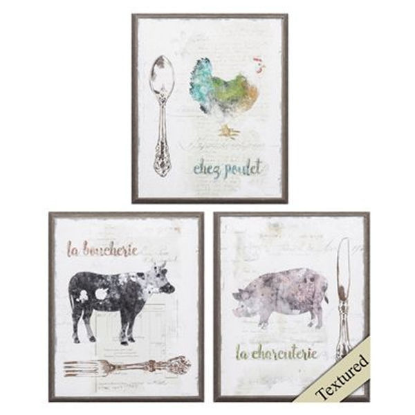 Picture of FARMHOUSE CRITTER PRINTS