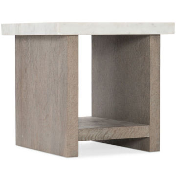 Picture of LORRAIN SQUARE END TABLE