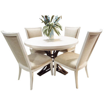 Picture of OCEAN BREEZE 5PC ROUND DINING SET