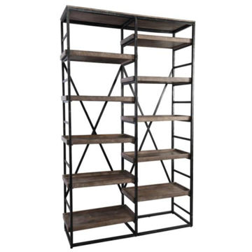 Picture of EVAN DOUBLE BOOKSHELF