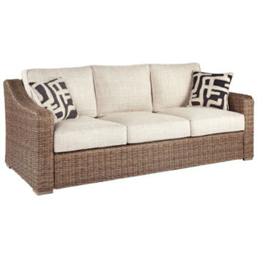 Picture of BEACH HOUSE SOFA W/CUSHION