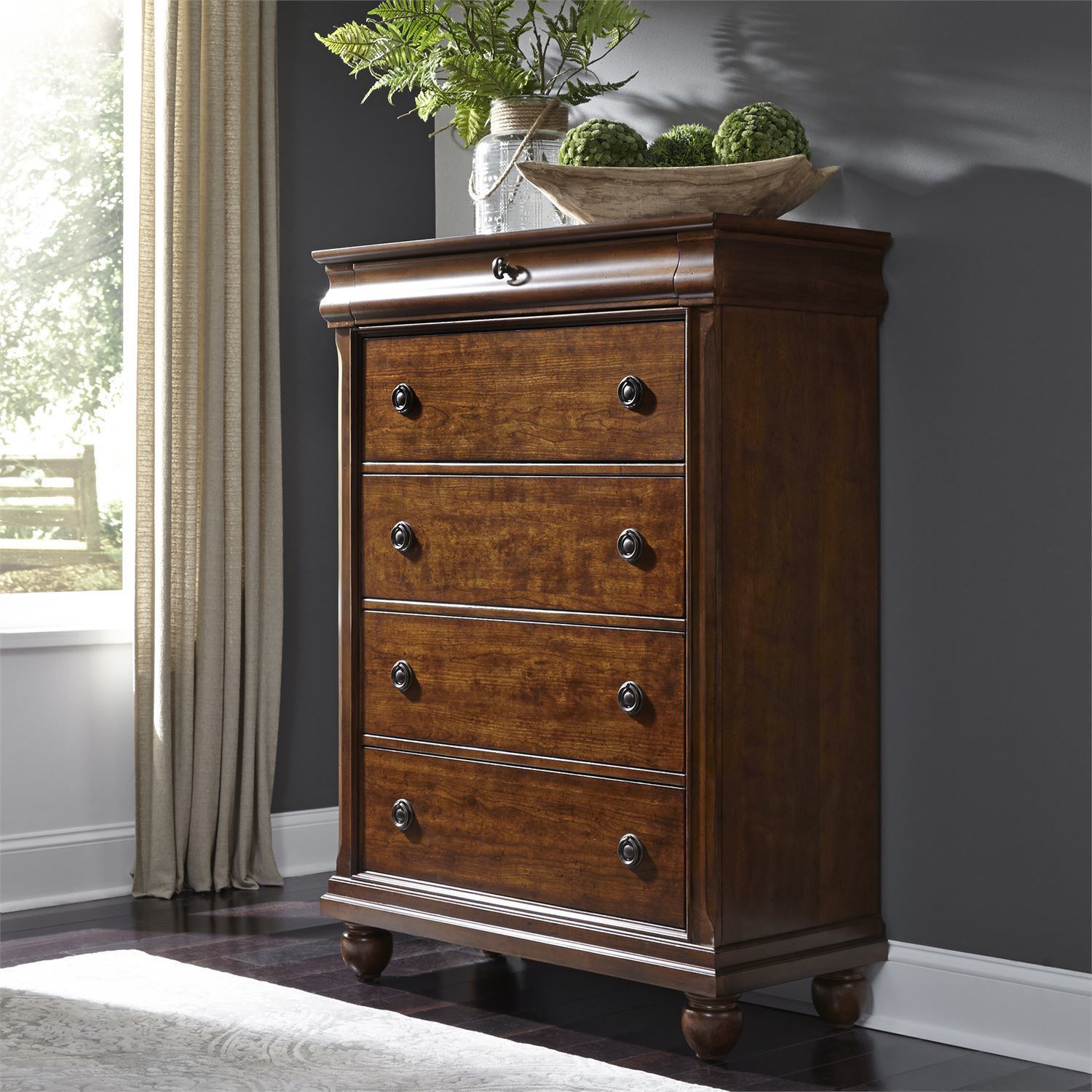 Picture of TUDOR 5 DRAWER CHEST