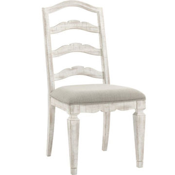 Picture of MADISON UPHOLSTERED LADDER BACK SIDE CHAIR