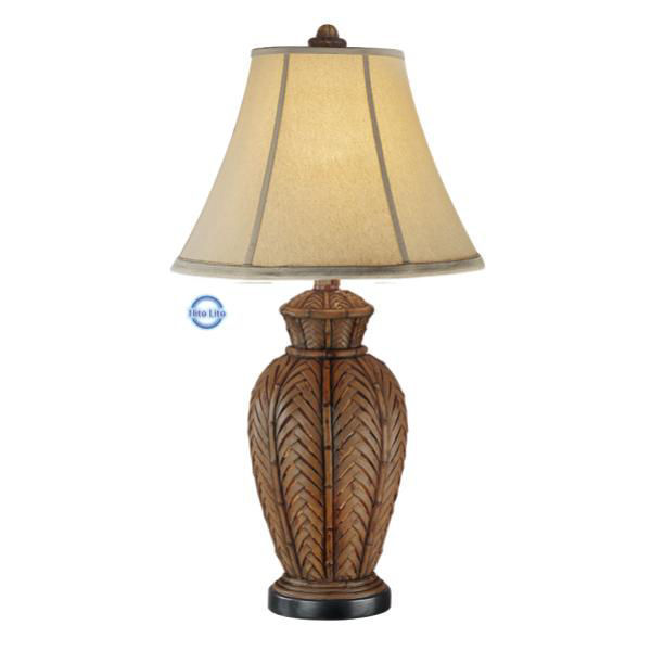 Picture of ANITQUE WICKER NL T-LAMP