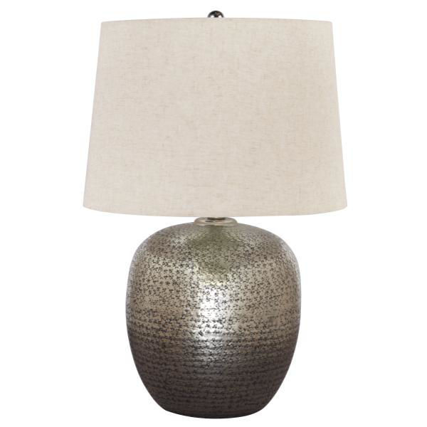 Picture of MAGALIE ANT SLIVER TABLE LAMP