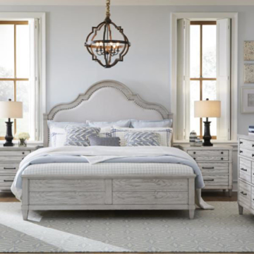 Picture of Bellhaven King Panel Bed