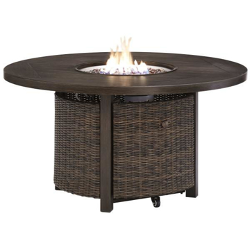 """Picture of GRAYTON 48"""" RND FIRE PIT TABLE"""