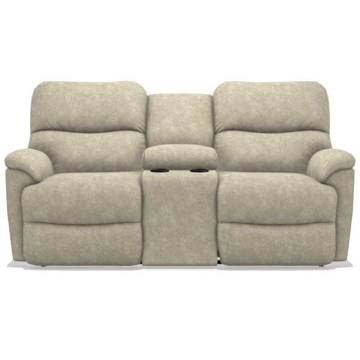 Picture of TROUPER LOVESEAT W/CONSOLE AND POWER HEADREST