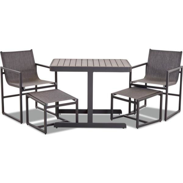 Picture of BALCONY 5PC SET IN CHARCOAL