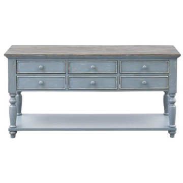 Picture of 6 DRAWER CONSOLE TABLE