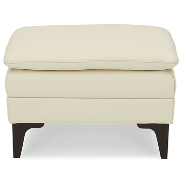 Picture of BALMORAL LEATHER OTTOMAN