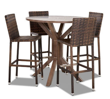 Picture of CROSSROADS 5PC CNT PATIO DIN