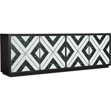 Picture of GRAND NOIR ET BLANC CONSOLE