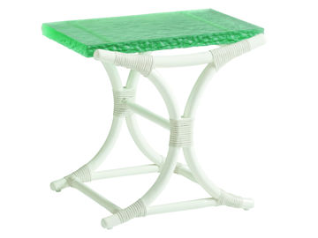 Picture of DANIA SEA GLASS END TABLE