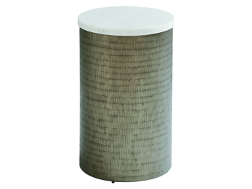 Picture of TURNBERRY ROUND CHAIRSIDE TABLE