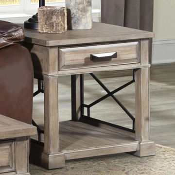 Picture of SUNDANCE END TABLE SANDSTONE