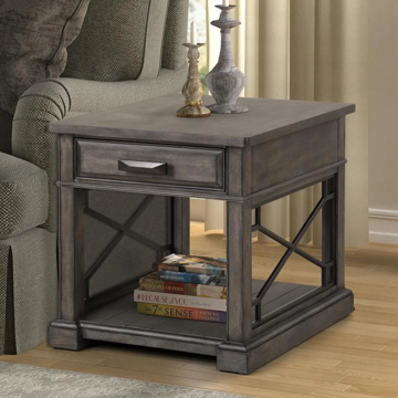 Picture of SUNDANCE END TABLE SMOKEY