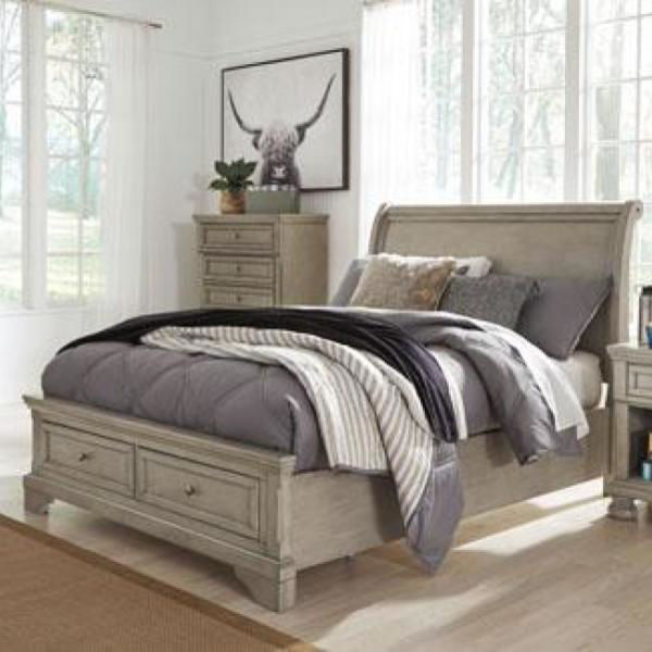 Picture of Kenley Sleigh Storage Bed