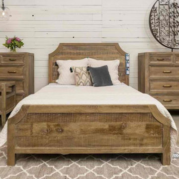 Picture of Francesca King Bed In Vintage Taupe