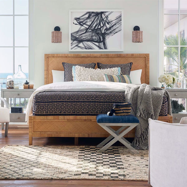 Picture of Long Key Woven Bed