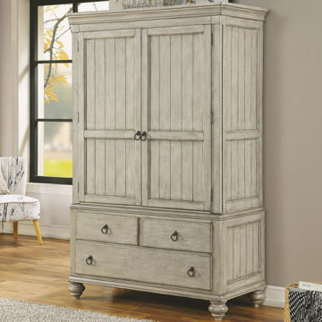 Picture of PLYMOUTH ARMOIRE TOP AND BASE