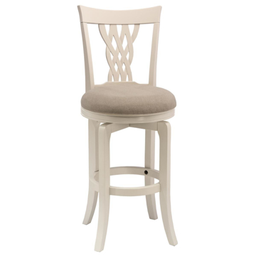 Picture of EMBASSY SWIVEL COUNTER STOOL WHITE