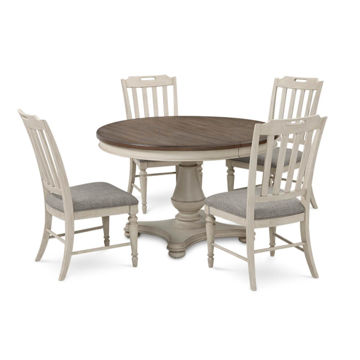 Picture of BROOKHAVEN ROUND TABLE & 4 CHAIRS
