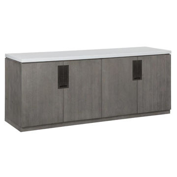 Picture of PURE MODERN CREDENZA W/QTZ TOP